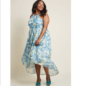 ModCloth Brave New Whirl Maxi Dress Size 2X